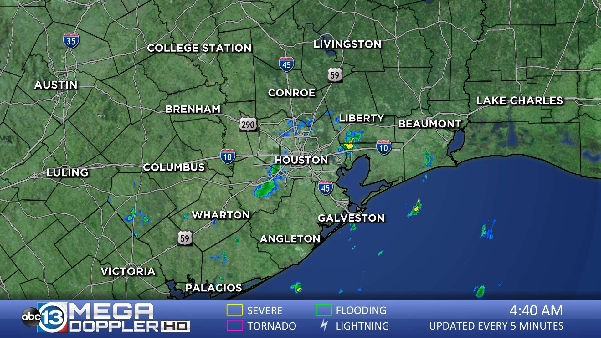 Map Of Northwest Texas.Southeast Texas Radar Abc13 Com