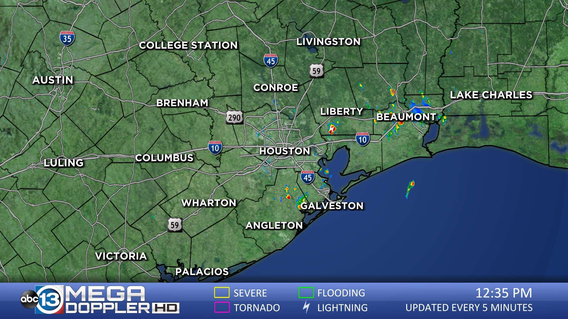 Austin Weather Map Radar.Houston Weather Radar Map Mega Doppler Abc13 Com