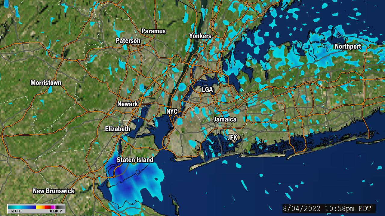 Weather Map Of New York