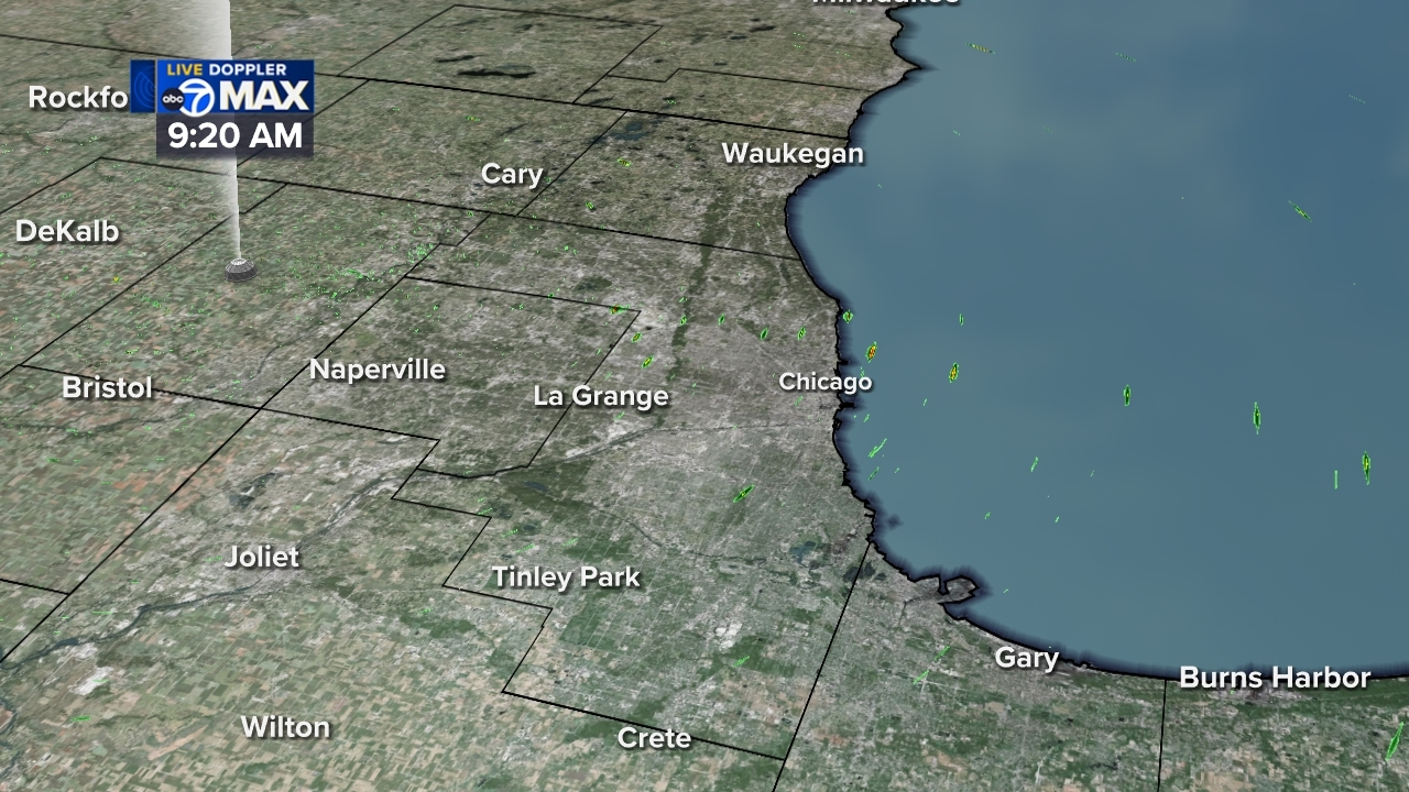 Chicago - Cook County Live Weather Radar