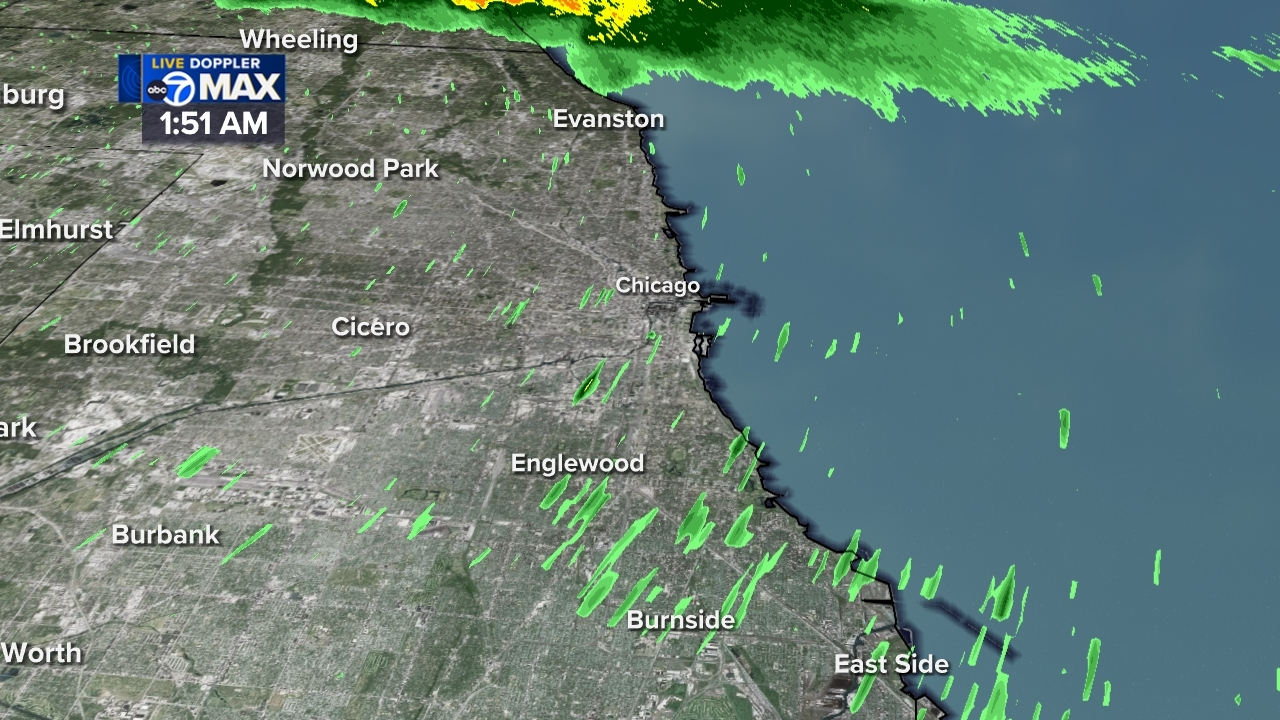 Chicago Area Weather Radar