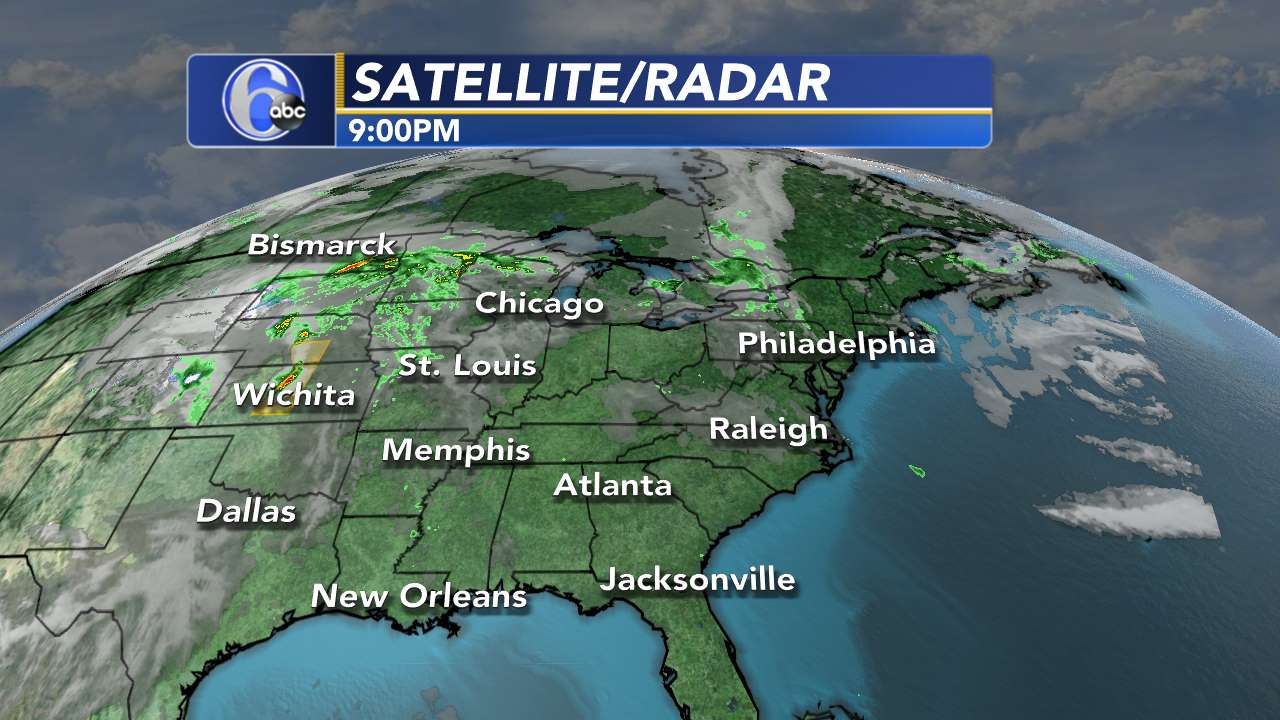 Link to Eastern US Satellite Radar Map