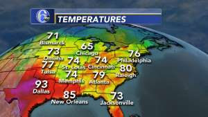 Stormtracker 6 Philadelphia Weather News 6abccom - Current-temperature-us-map