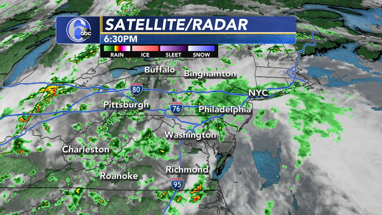 Mid Atlantic Weather Radar Stormtracker 6 | 6abc.com