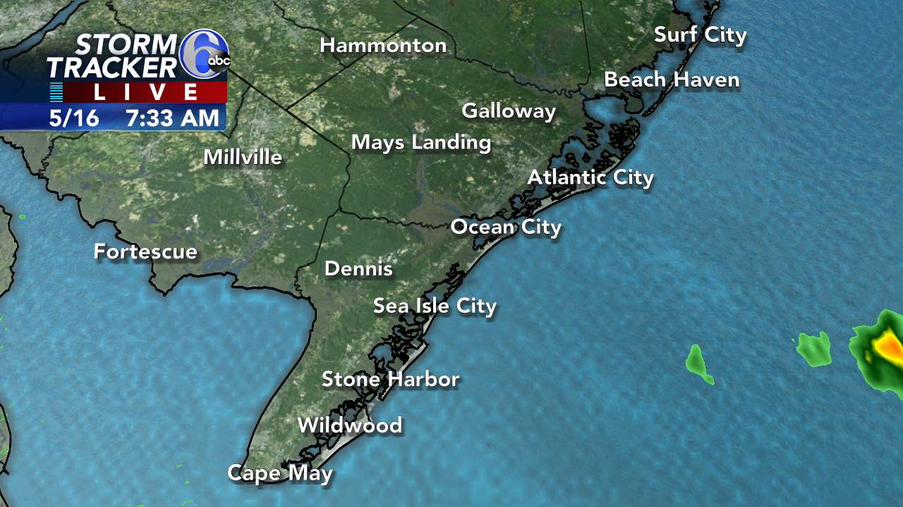 StormTracker 6 - New Jersey Shore view